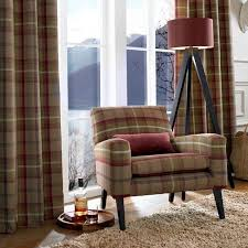 Wool Curtains Tartan Fabric Curtains Glif Org
