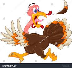 cute turkey cartoon stock vector 229713034 shutterstock