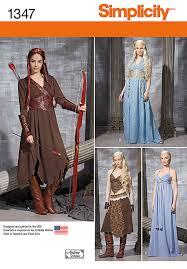 Halloween Costumes Sewing Patterns Khaleesi Tauriel Costume Game Thrones Hobbit