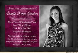 graduation invitations ideas christian open house invitation faith woman graduation