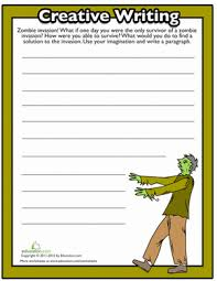 4th grade halloween writing prompt worksheets education com