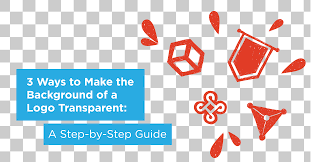 3 ways to make the background of a logo transparent a step by