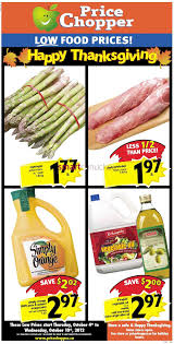 Thanksgiving Food Prices Price Chopper Canada Flyers
