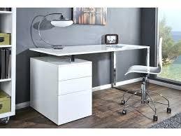 caisson bureau blanc laqué caisson bureau blanc laquac bureau design blanc laquac avec
