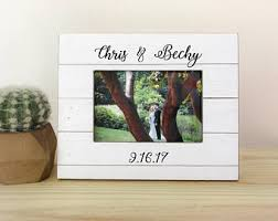 personalized wedding photo frame wedding frame etsy