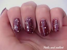 glitter nail arts design for wedding fashion fuz