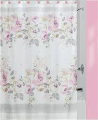 Circo Tree House Shower Curtain Creative Bath Cabbage Rose Shower Curtain Houses And Home Ideas