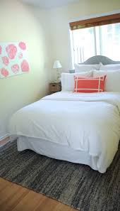 deliciously organized guest room update the big rug dilemma of