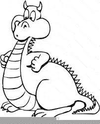 print u0026 download cute dragon coloring pages