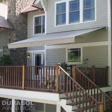 Contemporary Retractable Awnings Residential Home Garage Doors