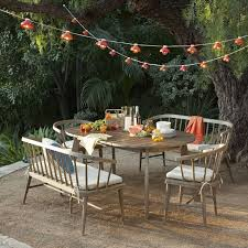 west elm outdoor lighting dexter outdoor expandable dining table west elm