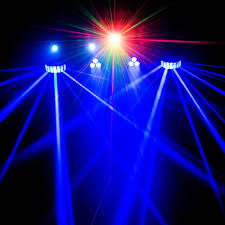 Halloween Lighting Effects Chauvet Dj Gigbar 2 4 In 1 Complete Effect Light System Idjnow