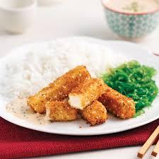 cuisiner le tofu ferme bâtonnets de tofu croustillants recettes cuisine et nutrition