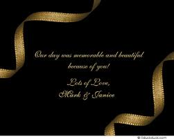 dramatic thank you card event personalize colors
