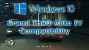 windows 10 compatibility grand theft auto iv with nvidia optimus
