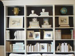 How To Decorate A Bookshelf Painted Book Shelves 4503