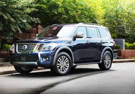 nissan armada 2017 black scott sturgis u0027 driver u0027s seat is the 2018 nissan armada a