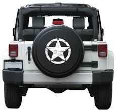 tire cover jeep wrangler amazon com 30 distressed rigid tire cover plastic