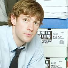 jim halpert hairstyle jim halpert from the office charactour everyone s a character