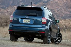 subaru forester xt off road 2014 subaru forester xt first drive autoblog