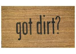 got dirt coir doormat u2013 coco doormats modern u0026 elegant coir