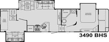 heartland 5th wheel floor plans 2008 heartland big country 3490bhs fifth wheel madelia mn noble rv