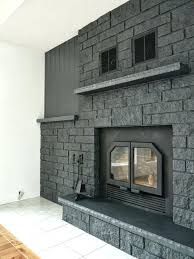 brick anew paint colors misty harbor painting fireplace color