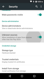 secure settings apk android basics how to enable unknown sources to sideload apps