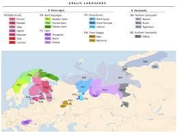 Language Map Of Europe by Uralic Languages Wikipedia