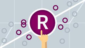 r logo r statistics essential training