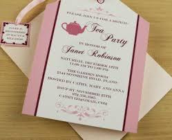 bridal shower tea party invitations bridal shower invitation templates bridal shower tea party