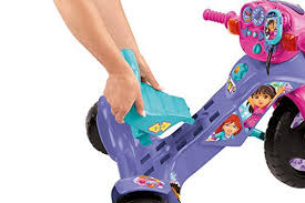 fisher price lights and sounds trike fisher price nickelodeon dora and friends lights sounds trike