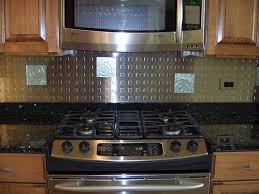 steel kitchen backsplash awesome kitchen backsplashes design for decorating your kitchen