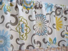 Modern Kitchen Curtains by Chic Waverly Kitchen Curtains And Valance 93 Waverly Kitchen