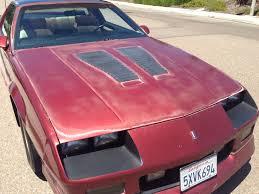 88 camaro iroc z for sale california 1988 camaro iroc z z28 for sale reduced to 8 700