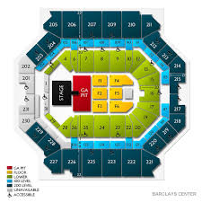 barclays center floor plan soulfrito music festival barclays center tickets for 6 8 18