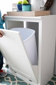 How To Build A Cabinet Box How To Build A Custom Tilt Out Trash Cabinet Just A And Her