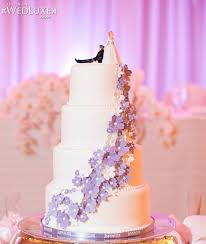 wedding cake lavender 2014 silver lavender stylish wedding cake archives weddings