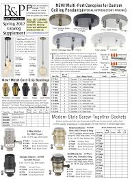 Light Fixture Hardware Parts by Wholesale Catalogs B U0026p Lamp Supply