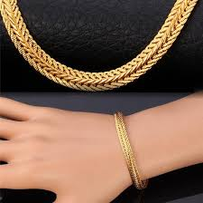 gold plated bracelet chain images Rock style snake chain 18k gold platinum plated bracelet red jpg