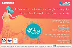 s day celebrate being on 8 march 2013 at korum mall