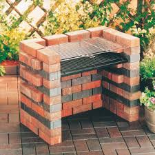 Outdoor Brick Fireplace Grill by Grill Set For Brick Bbq Bbq Pinterest Brick Bbq And Bricks