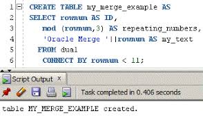 Oracle Create Table Example How To Use Oracle Merge Statement