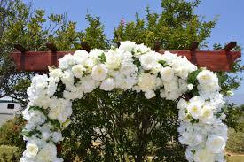 wedding arches chuppa wedding arch ceremony arch chuppah arch silk flower arch