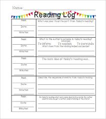weekly log template weekly log template weekly log template