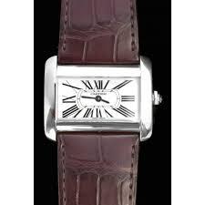 cartier divan montre cartier divan quartz acier r礬f a125536 instant luxe