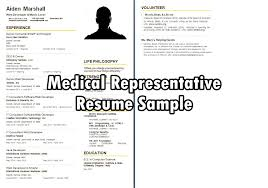 Sample Resume For Ceo by Download Sample Resume For Medical Representative