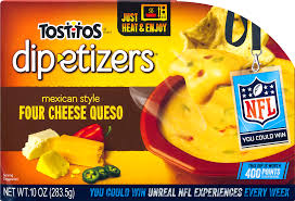 tostitosâ dip etizersâ u201e mexican style four cheese queso dip 10