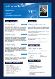 Impressive Resume Examples by Cielo Cv By Seal Themeforest