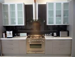 Glass Door Kitchen Wall Cabinets Unique Frosted Glass Kitchen Cabinet Doors Fair Kitchen Interior